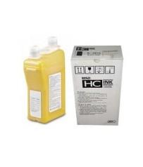 Краска HC RISO желтая YELLOW S-4673E(1000мл)